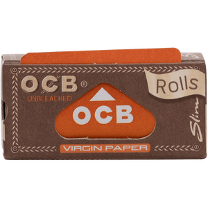 OCB Virgin Rolls, unbleached