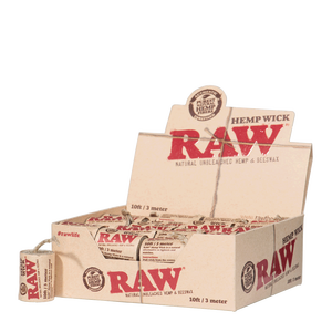 Raw Hemp Wick | 3m | 40er Box