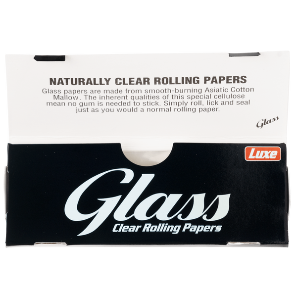 Luxe Glass Transparent Papers