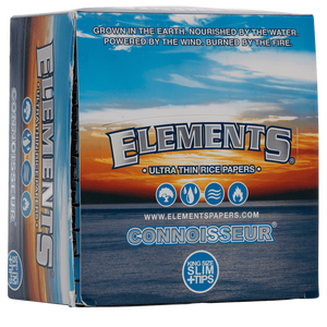 Elements Connoisseur | King Size Slim + Filter Tips | Box...
