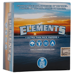 Elements Classic | King Size Slim | Box of 50