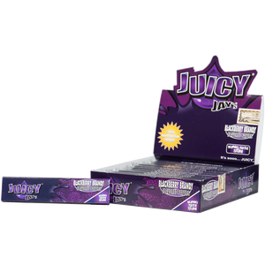 Juicy Jays | King Size | Blackberry Brandy | Box of 24