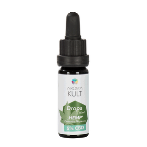 Aromakult Drops Hemp 10ml / 5 % CBD | Discontinued Item -...