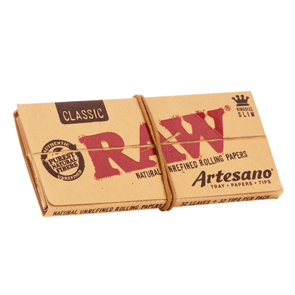 Raw Artesano Kingize Slim Papers + Filtertips