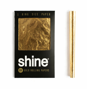 Shine Gold Papers | King Size | One Sheet