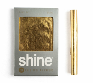 Shine Gold 1¼ Papers | Two Sheets