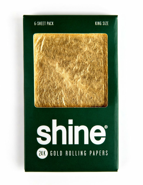 Shine Gold Papers Kingsize Six Sheets