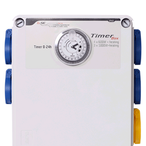 GSE Timer Box II | 4 x 600W + Heating