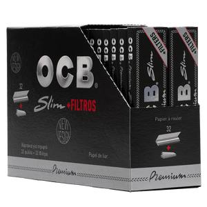 OCB King Size premium slim + Filter Tips, 32er Box