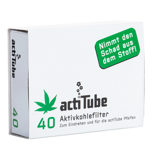 ActiTube Aktivkohlefilter Regular 40 Stk.