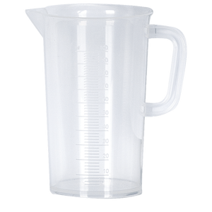 Measuring Jug | Raised Scale | 100ml | 2ml Split