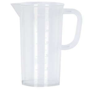 Measuring Jug | Raised Scale | 250ml | 5ml Split
