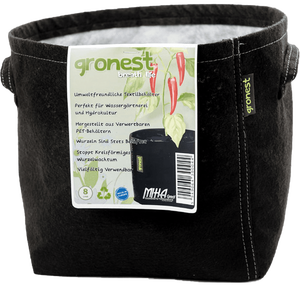 Gronest 8L PET Pot 19x19x21 bottom fleece, handles