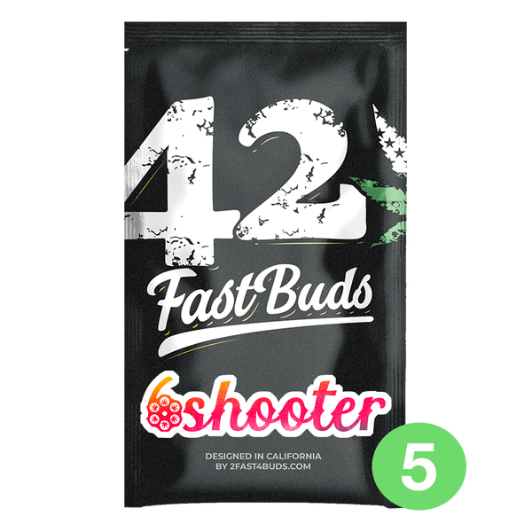Fast Buds Six Shooter | Auto | 5er